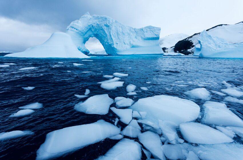 افزایش سرعت آبشدن یخها