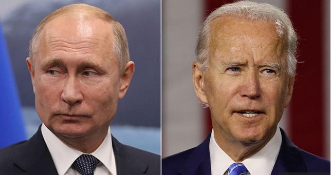 بایدن در نخستین گفتگوی تلفنی خود با پوتین از مداخله در انتخابات آمریکا و هکرهای روسی صحبت کرد.