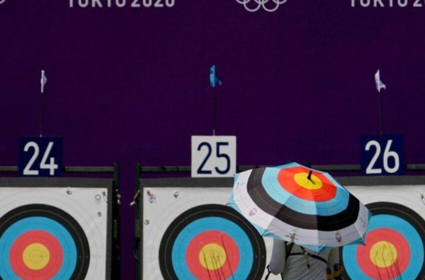 کماندار روسی در مسابقات المپیک توکیو به دلیل گرمای شدید بیهوش شد