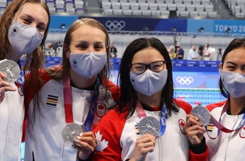 کانادا اولین مدال های خود را در بازی های المپیک ۲۰۲۰ توکیو بدست آورد.