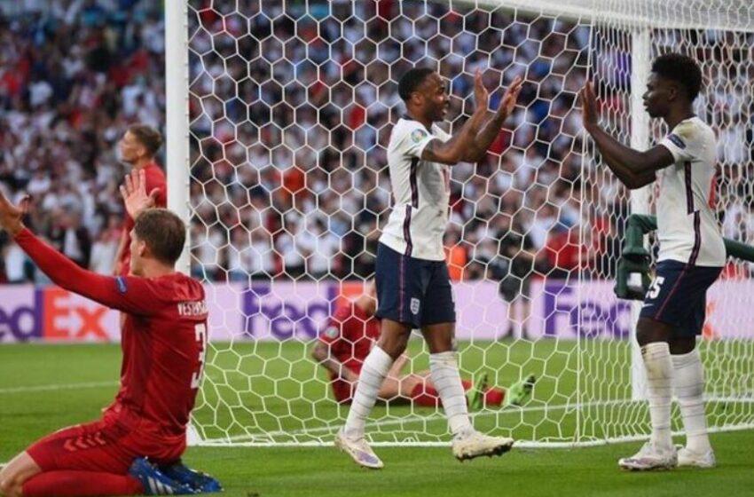 صعود انگلیس به فینال یورو ۲۰۲۰