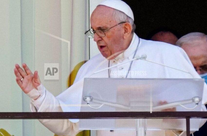 اولین حضور عمومی پاپ پس از عمل جراحی