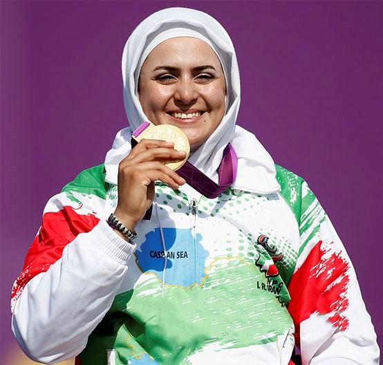 اولین زن ایرانی که سه طلای پارالمپیک دارد