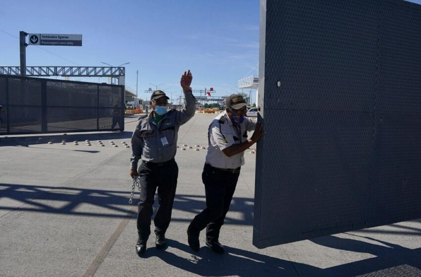 لغو محدودیت های مرز زمینی آمریکا با کانادا و مکزیک